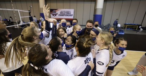 BYU survives epic second set, sweeps UCLA 3-0 in NCAA women's volleyball second-round match