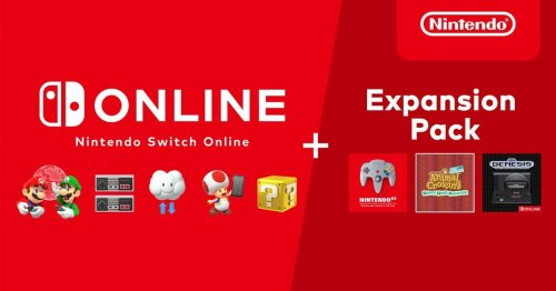 Nintendo Switch Online + Expansion Pack subscription launches Oct. 25, costs $49.99 annually
