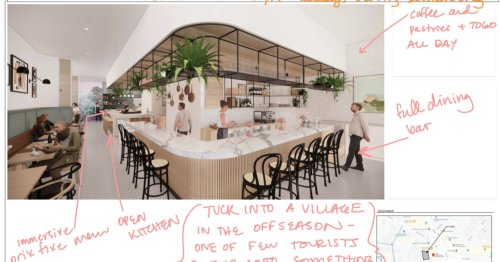 In a Bigger Space, Juliet Will Draw Inspiration From French Riviera Bistros