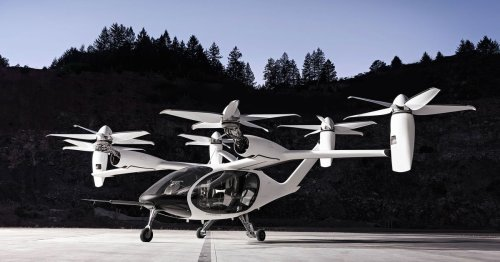 Watch Joby Aviation's electric air taxi complete a 150-mile flight