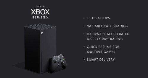 Microsoft reveals more Xbox Series X specs, confirms 12 teraflops GPU