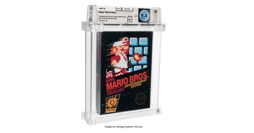 Sealed Super Mario Bros. sells for $660,000, shattering record for most expensive game ever