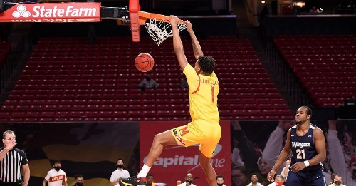 Career firsts were abundant in Maryland men's basketball's victory over Wingate