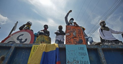 Colombia's protests are a product of its post-peace-deal reality