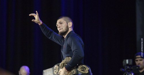 Morning Report: Khabib Nurmagomedov says he declined Georges St-Pierre, $100M fight offer from Floyd Mayweather