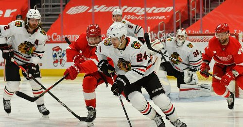 Blackhawks at Red Wings: First period discussion