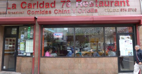 New York Just Lost La Caridad 78, One of Its Last Cuban-Chinese Restaurants