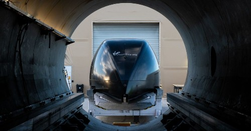 Virgin Hyperloop selects West Virginia to test its futuristic transport system