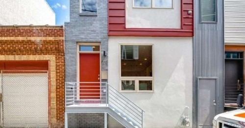 Nab This Brand-New Townhouse in Fishtown for $400K