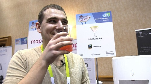 This is how you get smart drunk at CES 2016