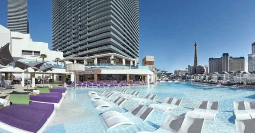 The Cosmopolitan's Pools Get Ready to Open With Views Above the Las Vegas Strip