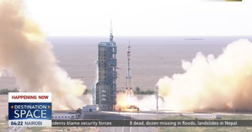 China successfully launches three astronauts to new space station