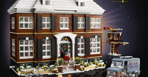 Home Alone is now a $250 Lego set, and it might be the most impressive fan-inspired model yet