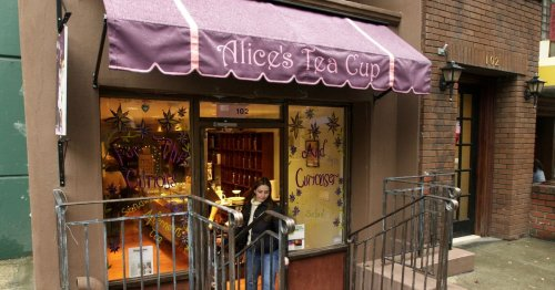 Burnt Out by the Pandemic, the Owners of Alice's Tea Cup Consider Selling Their Business