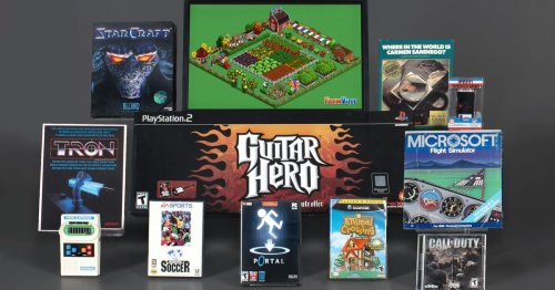 These are the 2021 nominees for the World Video Game Hall of Fame