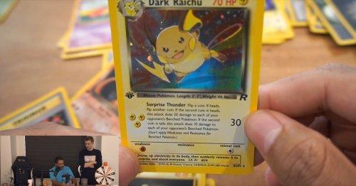 Nearly 100K people watched a streamer destroy rare Pokémon cards