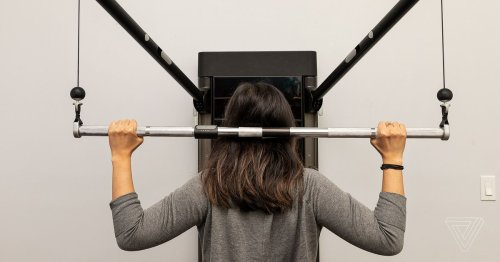 """Training with Tonal, the """"Peloton for weightlifting"""""""