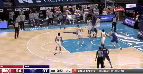 Did Miles Bridges surpass Anthony Edwards for dunk of the year?