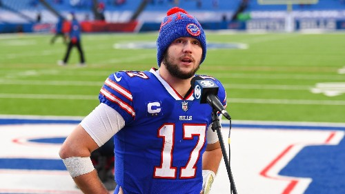 Watch: Kyle Brandt of GMFB does a Bills hype video