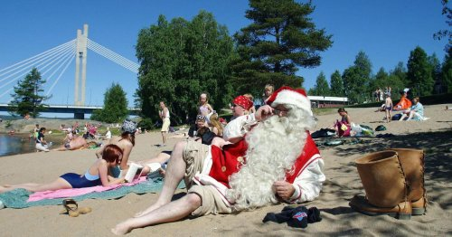 The surprising past, unlikely present, and uncertain future of Christmas in July