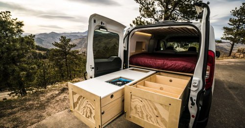 Prefab camper van kits cost $13,500