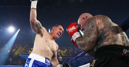 Results and highlights: Paul Gallen knocks out Lucas Browne in first round