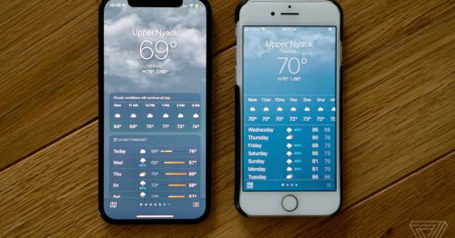 Apple's weather app won't say it's 69 degrees