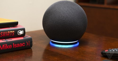 Why is my Alexa flashing green, red, orange, and yellow?