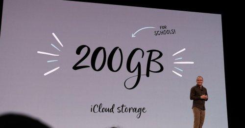 Apple, everyone needs more free iCloud storage