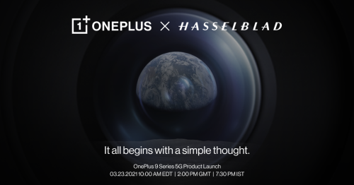 OnePlus 9 series will debut on March 23rd