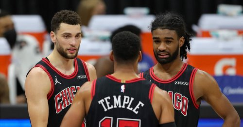 Bulls backcourt puts on a show in win, as first half comes to a close