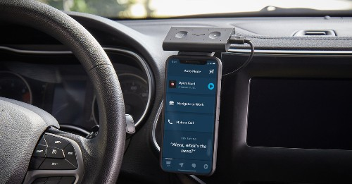 Amazon's Alexa app will soon work as an in-car display for the Echo Auto