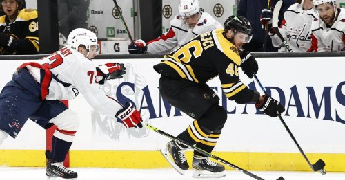 Projected Bruins lines vs. Capitals: Rask starts, forwards and defense unchanged