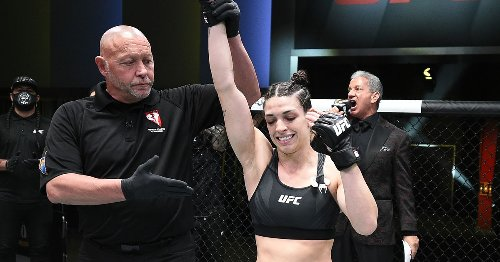 Mackenzie Dern ready for title shot by end of 2021: 'All my world titles came when I felt this feeling'