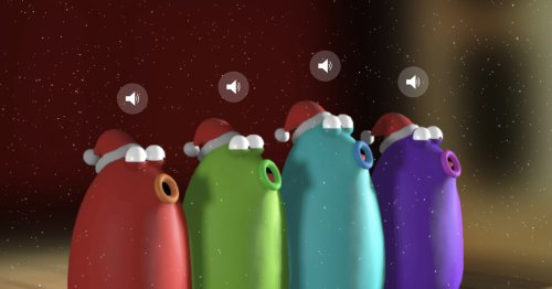 Let the dulcet tones of Google's Blob Opera ring in the holiday season with machine learning