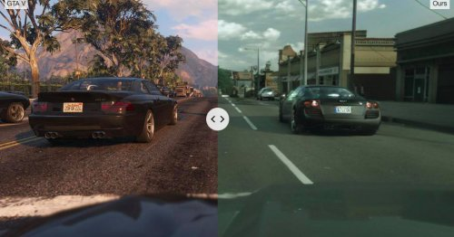 Intel is using machine learning to make GTA V look incredibly realistic