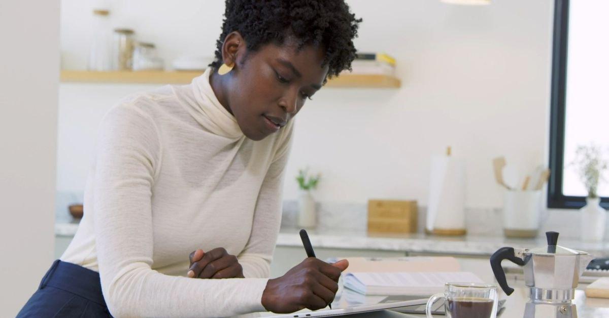 Microsoft's new Slim Pen 2 uses haptics to mimic the feeling of using a real pen