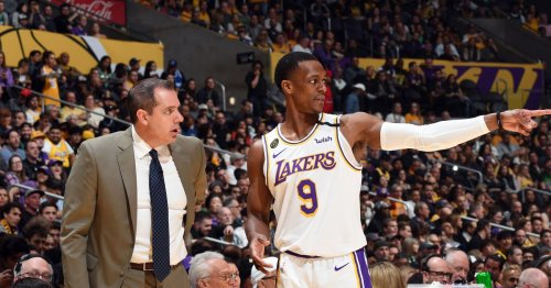 Frank Vogel says Rondo can replace Jared Dudley as vocal leader 'who's not going to play as much'