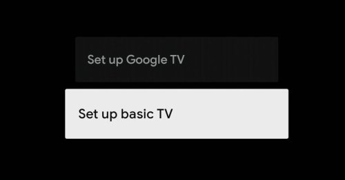 Google TV will include a new 'Basic' mode to make your smart TV, dumb