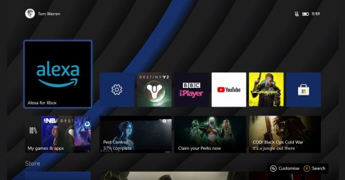 Amazon's new Alexa app for Xbox brings visual assistant features to your TV