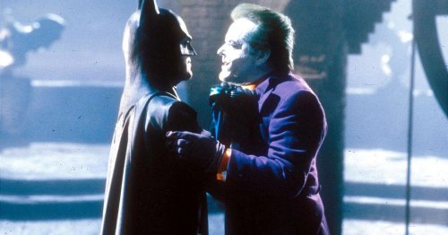 We have our first look at Michael Keaton's return as Batman