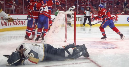 Canadiens 3, Golden Knights 2: Montreal wins Game 6 in OT, eliminates Vegas from playoffs