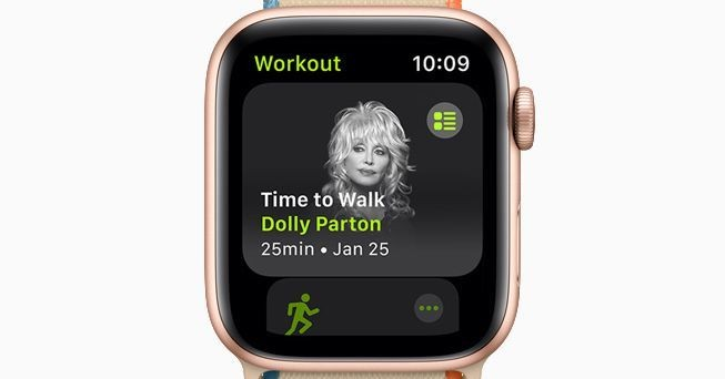 Apple adds walking with celebrities to Fitness Plus' features