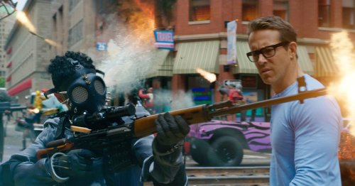 Ryan Reynolds' Free Guy could've been Fortnite: The Movie, but there's more to it