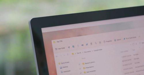 Microsoft teases new File Explorer for Windows 11