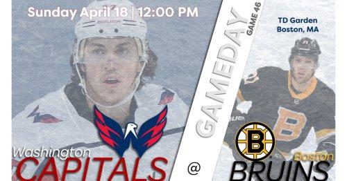 Capitals @ Bruins Game Thread