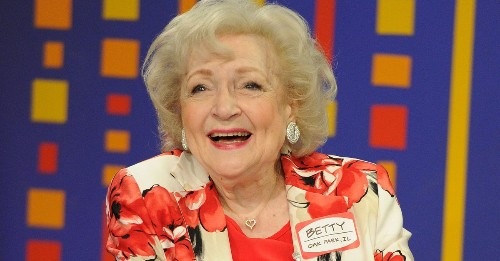 Betty White's top tips for living a long and healthy life