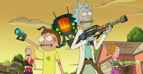Rick And Morty's Comic-Con panel said almost nothing, pleasantly