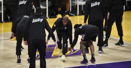 How Suns players fare via HoopsStats.com win/loss matchups