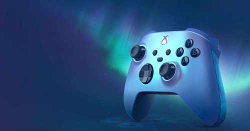 New 'Aqua Shift' Xbox controller does more than just change the color
